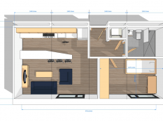 HC Building_Room Layout