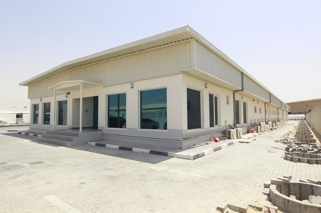 UAE office made from shipping containers
